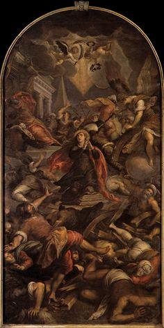 Palma il giovane, Martirio di S. Caterina d'Alessandria, Chiesa di Santa Maria Gloriosa dei Frari, Venezia