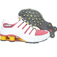 the latest d98e4 72440 Nike Womens Shox NZ (varsity red   pine green   pro gold   white)  311137-611 -  109.99