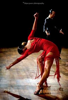 Dance art: tango