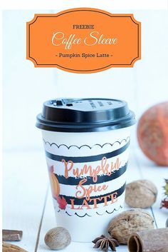 Es ist Pumpkin Spice Latte Time! 3 kostenlose Coffee Wrapper zum Download / Freebie