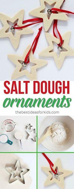 These Salt Dough Orn
