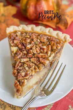 Grits Pecan Pie