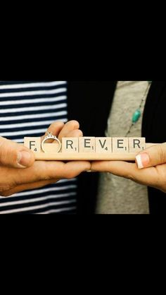 Cute picture idea. Sooo cute with other letters too