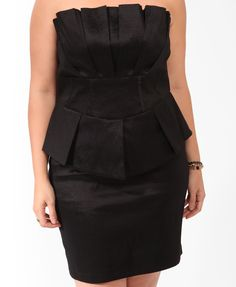 Peplum is very flattering on all sizes