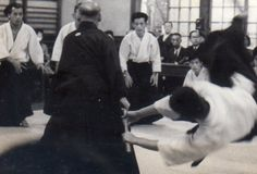 "Aikido Founder Morihei Ueshiba's nephew and training partner, Noriaki Inoue. He also taught Shigenobu Okumura's mother self-defense! More in ""Interview with Aikido Shihan Shigenobu Okumura, Part 1"", on the Aikido Sangenkai blog:  https://www.aikidosangenkai.org/blog/interview-aikido-shihan-shigenobu-okumura-part-1/"
