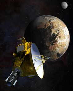 NASA's New Horizons spacecraft recently began its long-awaited, historic encounter with Pluto. The spacecraft is entering the first of several approach phases that culminate July 14 with the first close-up flyby of the dwarf planet, 4.67 billion miles (7.5 billion kilometers) from Earth.