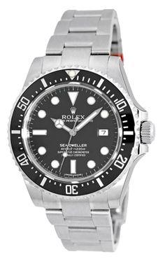 Rolex Sea-Dweller Date 116600 Stainless Steel Watch #rolex