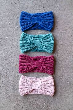 Pattern & Tutorial: Crochet Everly Head Wrap By Mamachee http://www.ravelry.com/patterns/library/everly-head-wrap