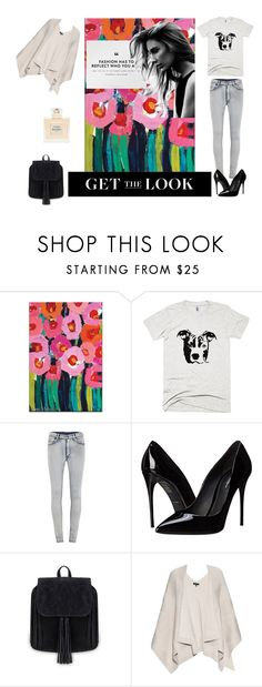 """""""That's me!"""" by ester77zoe ❤ liked on Polyvore featuring Cheap Monday, Dolce&Gabbana, rag & bone and Balmain"""