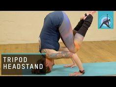 Tripot Headstand, Yoga Pose with Irina Verwer #yoga