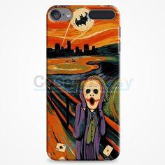 Scream Batman And Joker iPod Touch 6 Case | casefantasy