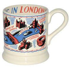 Colourful London 1/2 Pint Mug - gifted to Susan