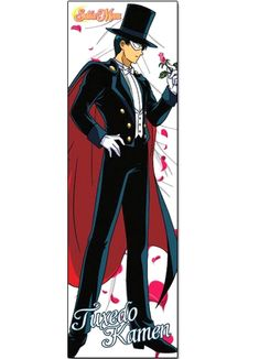 New official Tuxedo Mask body pillow from Sailor Moon http://www.moonkitty.net/reviews-buy-sailor-moon-body-pillows.php