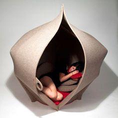 hush-felt-pod by freyja sewell