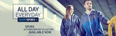 Official Tottenham Hotspur Mens Autumn/Winter collection available now. Men's Collection, Winter Collection, Spurs Shop, Fall Winter, Autumn, Tottenham Hotspur, Shopping Websites, Menswear, Fall Season