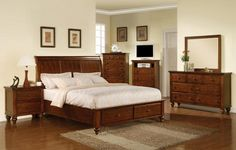 Chatham 6pc King Bedroom Set - Art Van Furniture