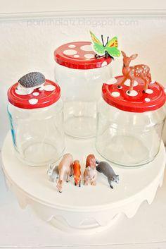 woodland mushroom jars....maybe??