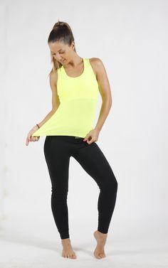 Camiseta Drifit Amarillo Limón Sweet Sweat