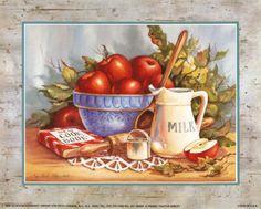 dibujos para cocina vintage - Buscar con Google
