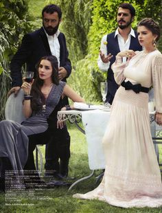 Muhteşem Yüzyıl cast for Vogue Turkey Oct Nur Fettahoğlu, Okan Yalabık… Beautiful One, Beautiful Outfits, Cute Outfits, Female Actresses, Actors & Actresses, Vogue, Turkish Beauty, Actrices Hollywood, High Fashion Photography