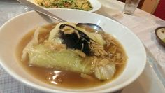 Chinese Cabbage with Dried Scallop