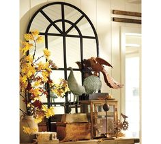 Fall Decorating ::  Pottery Barn