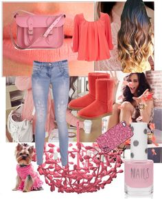 """""""Pink"""" by one-direction-luver913 ❤ liked on Polyvore"""