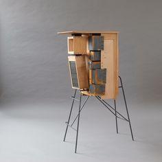 Crate Furniture, Studio Furniture, David Gates, Wood Surface, Cabinet Makers, Crates, Galleries, Sculptures, Workshop