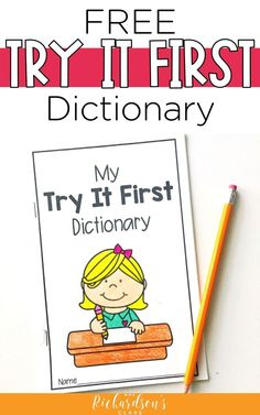 Need help getting your young preschool and kindergarten students writing? These tips will help you make progress with them through encouragement and fun, engaging activities. Plus, there's a FREE printable for you to get started with! Kindergarten Writing Activities, Teaching Writing, In Kindergarten, Preschool, Teaching Ideas, Dictionary For Kids, Dictionary Skills, Reading Skills, Reading Centers