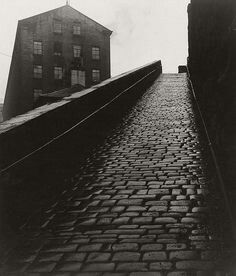 """A snicket in Halifax, West Yorkshire"" by Bill Brandt, 1937 Edward Weston, Bill Brandt Photography, Urban Photography, Street Photography, Straight Photography, Photography Themes, Heart Photography, Portrait Photography, Man Ray"