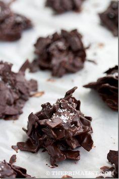 Salted Chocolate Coconut Stacks (Paleo)