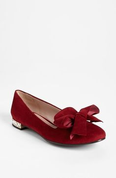 718d7e127d4f Miu Miu Jewel Heel Smoking Flat available at  Nordstrom Not slippers but  could fill in