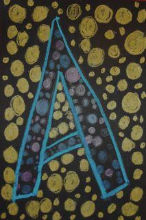 Yayoi Kusama Inspired Art Project