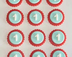 Owls Fondant Cupcake Or Cookie Toppers by LadyCupcakesCorner
