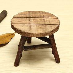[US$3.59] Zakka Mini Chair Mini Desk Photography Props #zakka #mini #chair #desk #photography #props