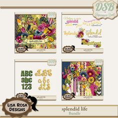 Splendid Life by Lisa Rosa Designs  DSB: http://store.digiscrappersbrasil.com.br/s4h-and-pu-c-1_273_422/splendid-life-bundle-p-6806.html WLS: http://withlovestudio.net/shop/index.php?main_page=product_info&cPath=27_188&products_id=3668