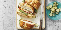 Rellenos, panes y salsas para el bocadillo perfecto. Breads, Salads, Recipes, Summer Kitchen