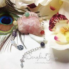 Business Success Crystal Healing Chakra Bracelet Reiki Jewelry Chakra Jewelry Spiritual Jewelry Job Work Success Reiki Gifts for Her