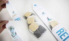 Mood Garden Tea #packaging #package #design