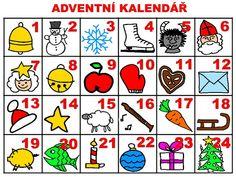 Christmas Time, Advent Calendar, Holiday Decor, Cards, Montessori, Classroom, Class Room, Advent Calenders, Maps