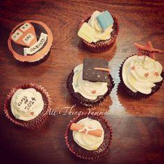 #cupcakes for a #harvard #graduate #books #graduationhat #scroll #degree #star #class #atyummy #school #college