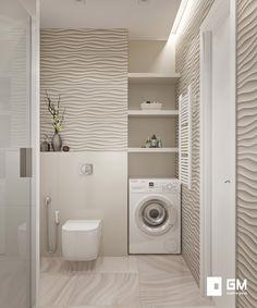 148 most popular basement bathroom remodel ideas - page 41 Bathroom Colors, Bathroom Sets, White Bathroom, Small Bathroom, Laundry Room Design, Laundry In Bathroom, Basement Bathroom, Modern Bathroom Design, Bathroom Interior Design