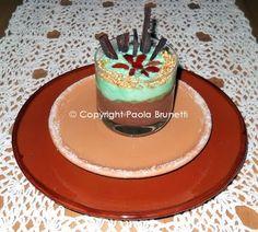 La cucina di ❀ Paola Brunetti ❀: Torta caprese ripiena di ganache al cioccolato per il mio onomastico