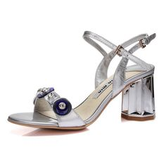 BalaMasa Girls Electroplate Heel Glass Diamond Soft Material Sandals ** Startling review available here  : Hiking sandals