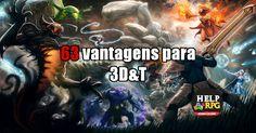 63 vantagens para 3D&T