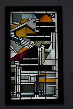 @@ Johan Thorn Prikker (1868-1932) Stained Glass Window.
