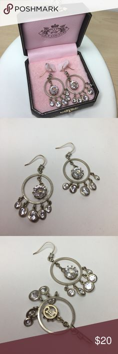 Selling this Vintage Juicy Couture Earrings In Original Box on Poshmark! My username is: antiqueorunique. #shopmycloset #poshmark #fashion #shopping #style #forsale #Juicy Couture #Jewelry