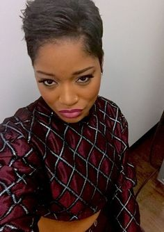 The Keke Palmer pixie cut has officially grown on us as the 21-year-old continues to show it off.   Page 9