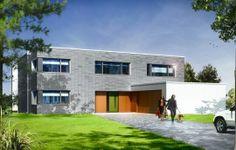 Prezentujemy luksusowy nowoczesny dom jednorodzinny dla 4-7 osób. Ta niezwykle wygodna i przestronna rezydencja posiada wszystko, czego można oczekiwać od komfortowego domu. Całość zaprojektowano w logiczny, przemyślany sposób. Funkcjonalne wnętrza komponują się tu z dobrymi proporcjami brył i konsekwentną, minimalistyczną estetyką. Dom, mimo na wskroś nowoczesnej formy, jest za razem powściągliwy i ciepły.