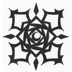 zero's tattoo from vampire knight...kind of want
